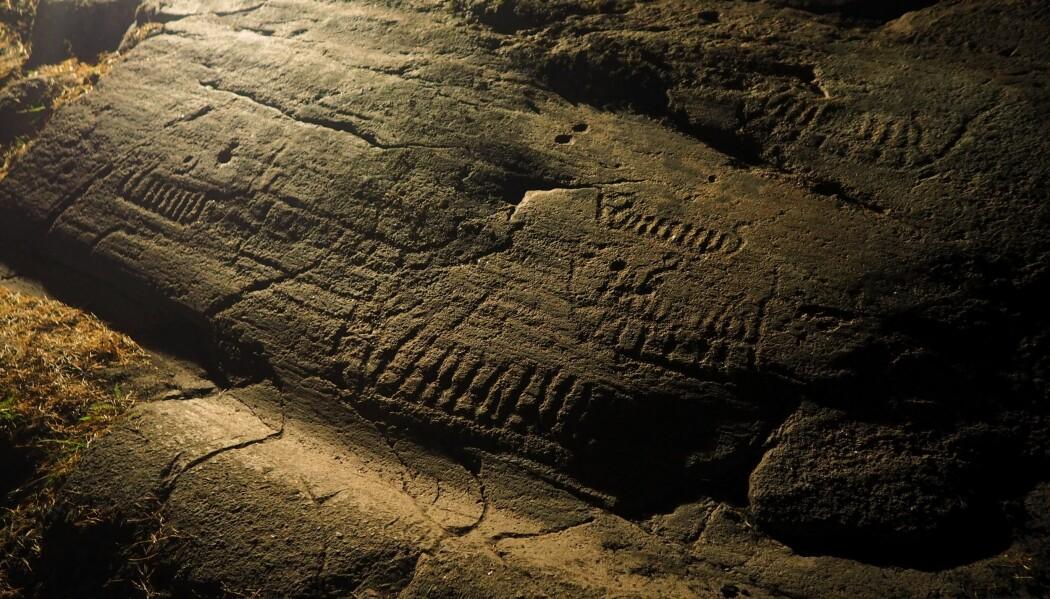 Skip er blant de aller vanligste motivene på helleristningene fra bronsealderen. Man har tenkt seg at dette var skip på vei til dødsriket. I dag vet vi at bronsealderen var en maritim kultur hvor folk i Norge ganske sikkert hadde slike skip som kunne reise langt av gårde.