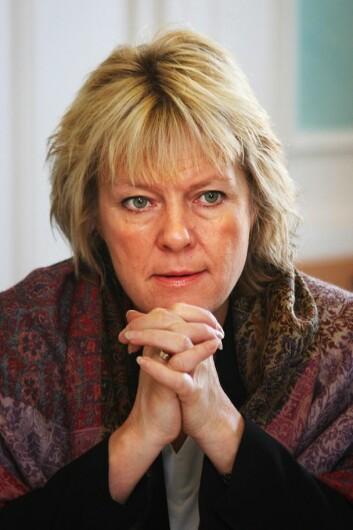Til Dagens Næringsliv forteller Kristin Clemet, leder av tankesmien Civita, at hun elsker å diskutere, men at hun med årene har skjønt at det er begrenset hvor utadvendt hun klarer å bli som leder. (Foto: Wikimedia commons)