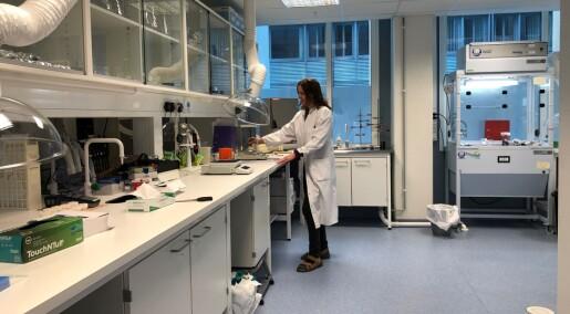 Flere laboratorier i drift under pandemien