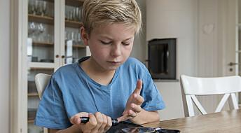 Barn med diabetes har neppe forhøyet risiko for alvorlig korona-sykdom