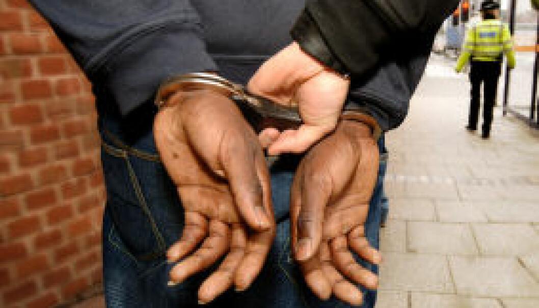 I perioden 2005-2008 ble sju prosent av alle innvandrere i Norge straffet, sammenlignet med fem prosent for personer uten innvandrerbakgrunn. iStockphoto