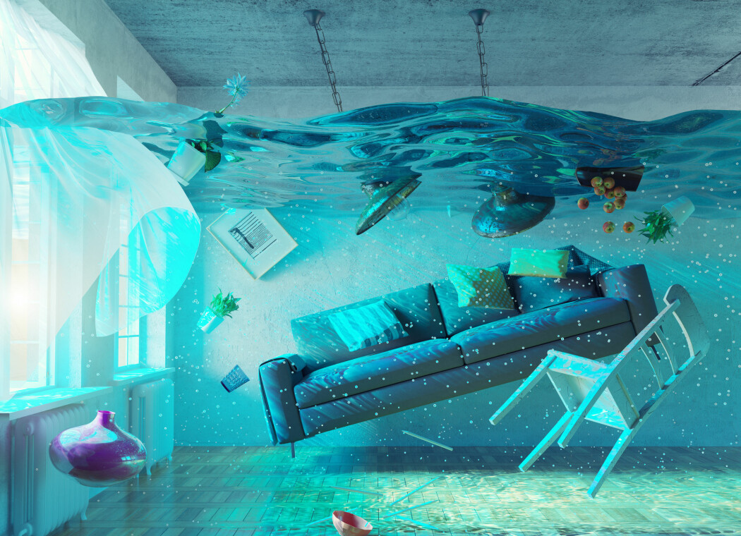 Det er vanlig å drømme om oversvømmelser, flodbølger og andre naturkatastrofer i disse koronatider. .