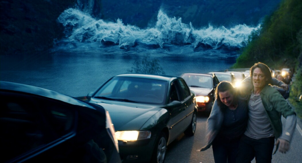 Bølgen har de fleste elementene som bør være med i en katastrofefilm. En helt som fikser det meste midt i en voldsom ødeleggelse.