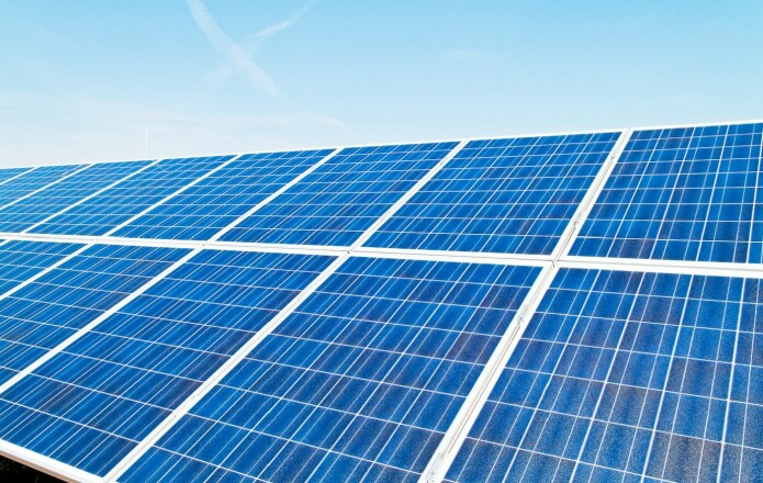 Plantenes klorofyll utnytter mellom en og to prosent av energien i sollyset. Kommersielle, menneskapte solceller er mye mer effektive, men det skal innrømmes at de ikke er like driftssikre.