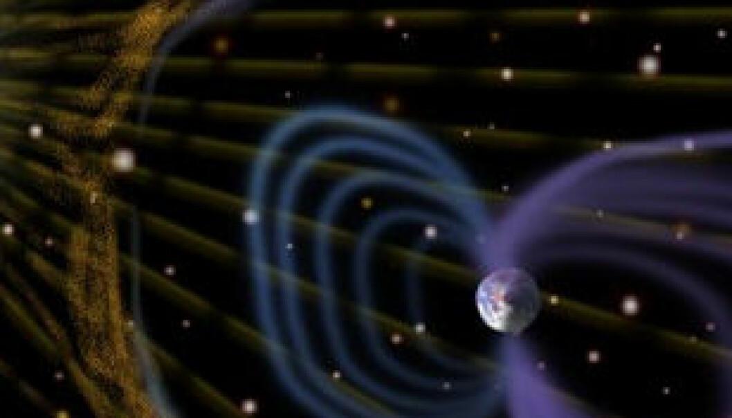 Belte av antimaterie omgir jorda