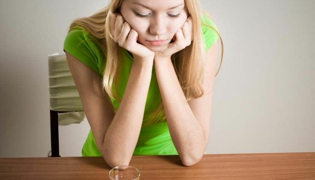 Anorektikere får ofte mer negativt kroppsbilde i forbindelse med måltider. (Foto: Shutterstock)