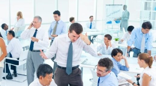 Kostbar støy i kontorlandskap