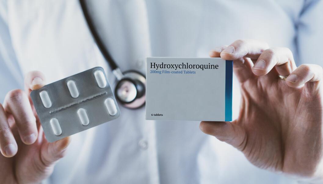 Stoffet hydroksyklorokin brukes til behandling av blant annet malaria og visse autoimmune sykdommer, som lupus og leddgikt. Men det er også mulig at den kan ha en effekt mot covid-19.