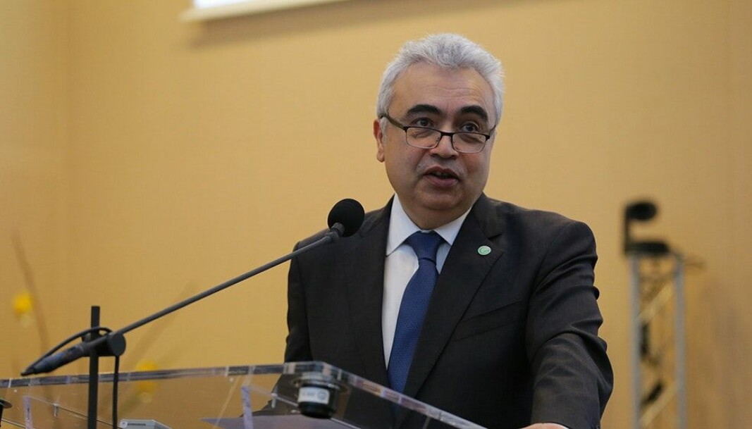 Fatih Birol, executive director of the International Energy Agency, speaking at the IEA Ministerial Meeting; Paris, November 2017. He says countries have a golden opportunity in the midst of the coronavirus crisis to embrace green energy.