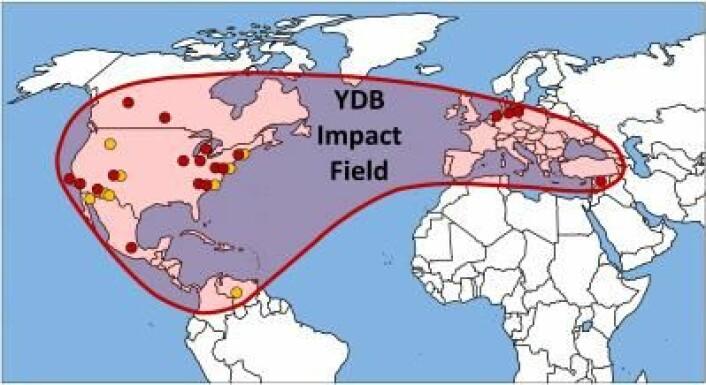 Studien omfattet prøver fra 18 ulike steder i ni land på fire kontinenter. (Foto: (Illustrasjon: YDB Research Group))