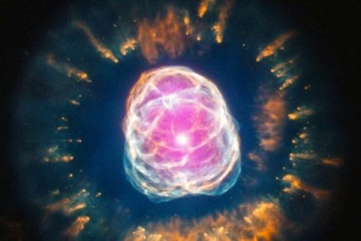 Om omtrent fem milliarder år vil det samme skje med vår sol. (Foto: Chandra X-ray Observatory Center/X-ray: NASA/CXC/IAA-CSIC/N.Ruiz)