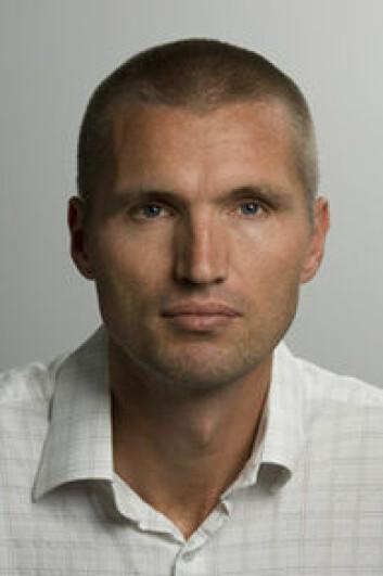 Aslak Fyhri, forsker ved TØI. (Foto: TØI)