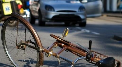 Blir trafikken tryggere med flere syklister?