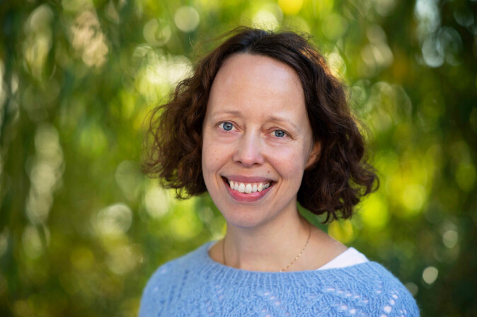 Forsker og jordmor Lena Henriksen ved OsloMet.