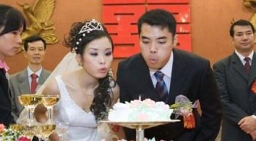 Kinesiske lesber velger fasade-ekteskap