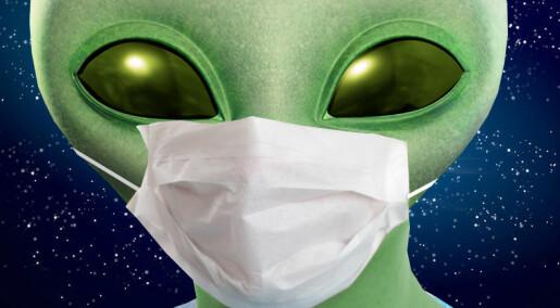 Du grønne glitrende ET, adjø