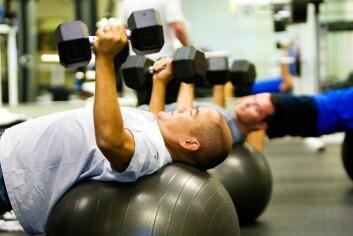 En typisk treningsavhengig er en mann mellom 20 og 35 år, men det kan ramme alle. Man vet ikke hva som utløser treningsbesettelse, men det bunner ofte i personlige forhold. (Foto: Microstock)