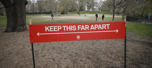 Harvard-studie: Vi bør holde sosial avstand til 2022