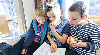 Små barn foretrekker bøker om hvorfor verden er som den er