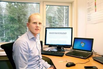 Øyvind Sandbakk ved Senter for toppidrettsforskning. (Foto: NTNU)