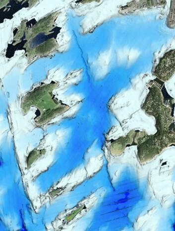 """""""DYPVANNSDEPONI: I bassenget ved Malmøykalven er det registrert både undersjøiske ras, skipsvrak og en lang forkastningssone på fjordbunnen."""""""