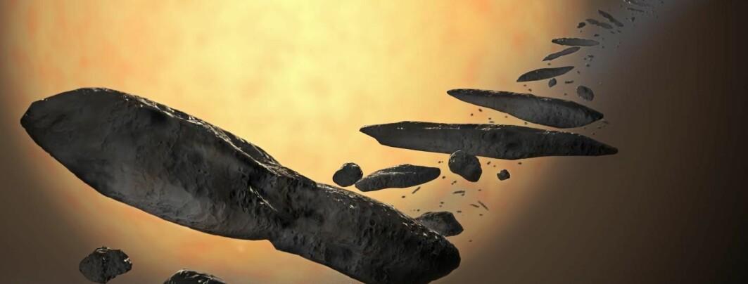 Vet vi hva 'Oumuamua er for noe nå?