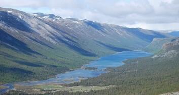 I Skjåk kommune er fire femtedeler av arealet vernet. Her fra Sota og Liavatnet. (Foto: Cato Edvardsen/Wikimedia Creative Commons)
