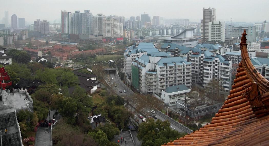 Wuhan i Kina. Våtmarkedet i denne byen, åstedet for spredningen av koronapandemien, er i drift igjen.