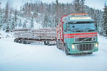 Skogbrukets operasjoner forårsaker lite klimagassutslipp - med unntak av tømmertransporten. (Foto: Astrid Kløvstad, Norsk Skogbruk)