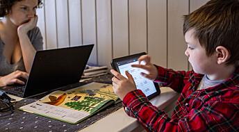 Får barn dårligere sosiale evner av mye skjermtid?