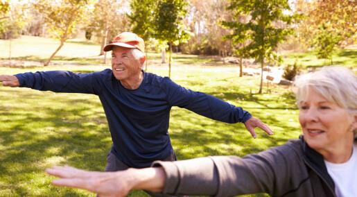 Tai Chi er trening som kan dempe stress
