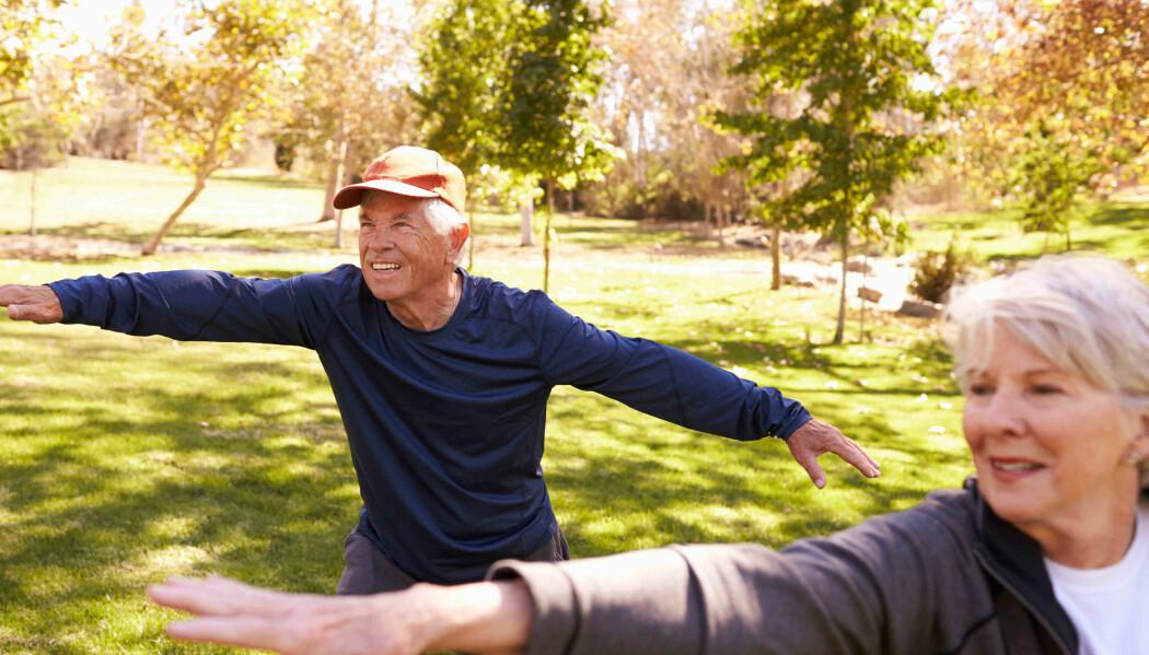 Tai Chi har en helsebringende påvirkning og effekt.