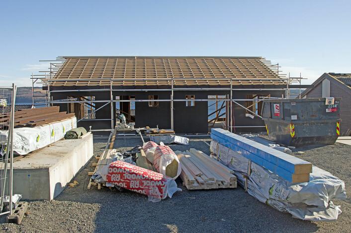 Distriktskommunenes tilrettelegging for boliger består stort sett av felt med eneboliger. (Foto: Georg Mathisen)
