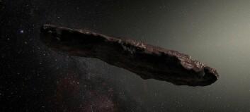 Vi fikk besøk av denne gjesten i solsystemet vårt. Er det en bit av en planet?