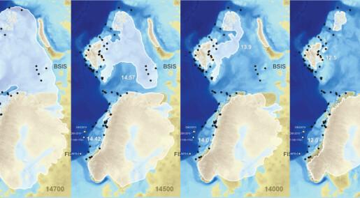 Brå oppvarming gjorde at isen kollapset og havet steg