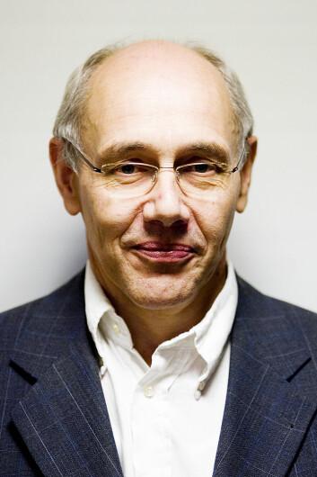 Professor Harm Schröter. (Foto: K. Kolle/UiB)