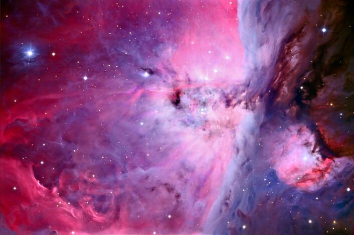 Et bilde av Oriontåken tatt med den nye kamerateknologien. (Foto: Adam Block/UA SkyCenter)