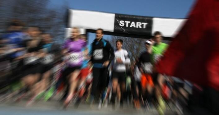 Vil du delta i et maratonløp, bør du være godt trent for ikke å utsette hjertet for fare, advarer forskerne bak denne studien. (Illustrasjonsfoto: Colourbox)