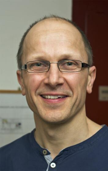 Torbjørn Ekrem på NTNU Vitenskapsmuseet leder NorBOL-prosjektet. (Foto: Georg Mathisen)