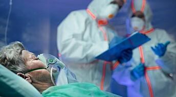 – Selv de friskeste kan få skader ved å kobles til samme respirator som andre pasienter