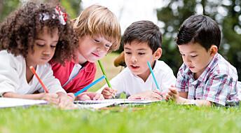 Barn lærer bedre i naturens klasserom