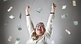 Får du bedre helse av å vinne i lotto?