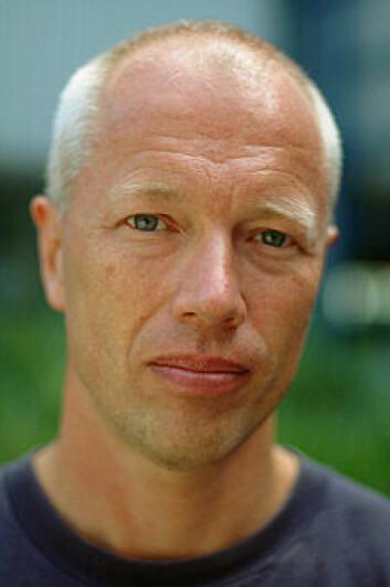 """""""Professor Sigurd Stefansson. (Foto: Lars Holger Ursin)"""""""