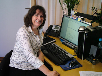 Ursula-Georgine Småland Goth disputerte nylig med en avhandling om nyankomne innvandreres bruk av fastlegeordningen. (Foto: Jan Eriksen)