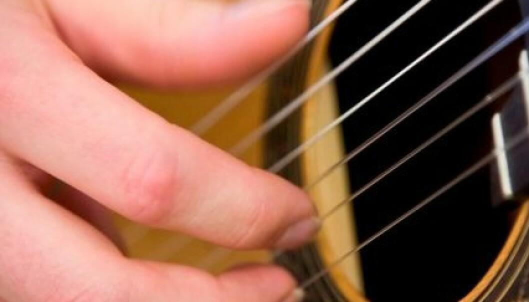 Gitarspel mot fedme