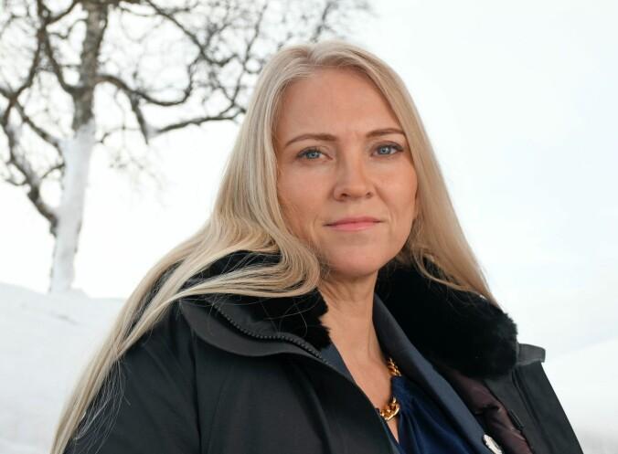 Lill Sverresdatter Larsen er leder i Sykepleierforbundet.