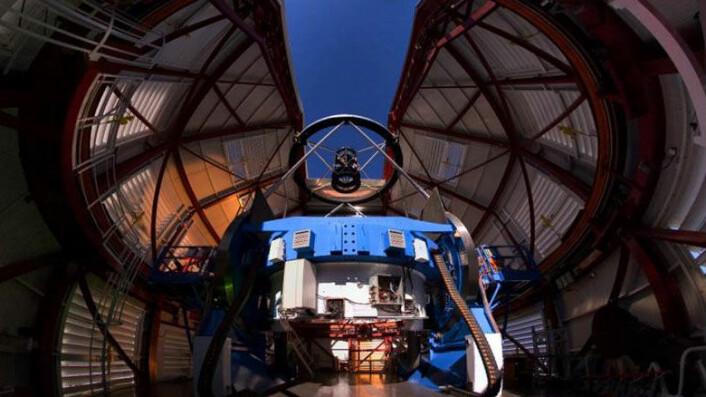 Den nye kamerateknologien er nylig montert på MagAO-teleskopet i Chile. (Foto: Yuri Beletsky, Las Campanas Observatory)