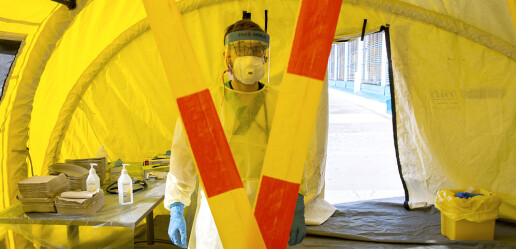 Rekordmange vil bli sykepleiere og leger under koronapandemien