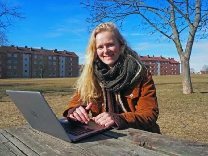 Victoria Lofstad-Lie er i ferd med å ta en innovasjonsdoktorgrad ved Institutt for teknologisystemer.