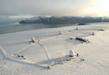 """""""Svalbard satellittstasjon."""""""